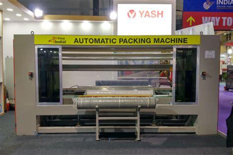 automatic fabric roll packing machine textile machines yashtex