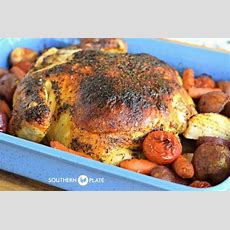 Butter Roasted Chicken  And Our October Beach Trip