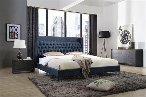 Contemporary Bedroom Furniture Sets Blue