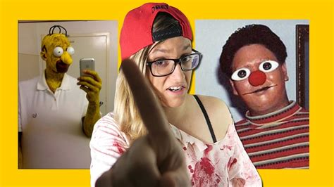 LOS 10 PEORES DISFRACES DE HALLOWEEN Epic Fails YouTube