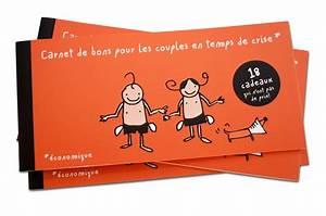 Cadeau Pour 1 An De Couple : carnet de bons pour les couples en temps de crise ~ Melissatoandfro.com Idées de Décoration