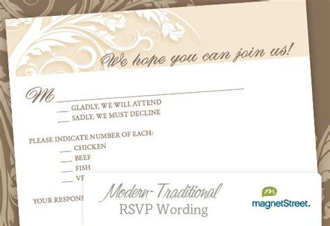 rsvp wedding wording