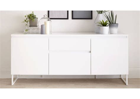 White Sideboard Modern by White High Gloss Low Sideboard Modern Dining Room