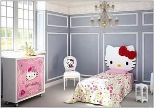 Chambre Hello Kitty : d corez la chambre de votre petite fille avec hello kitty th me d cor de maison ~ Voncanada.com Idées de Décoration