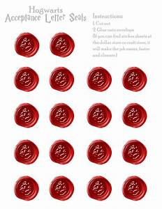 Hogwarts Acceptance Letter Seals – Free Download PropPrintables … Pinteres…