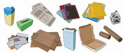 Paper Recycling Items Recycle Recyclable Cardboard Plastic