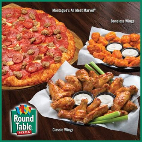 round table pizza near round out your meal with classic or boneless wings