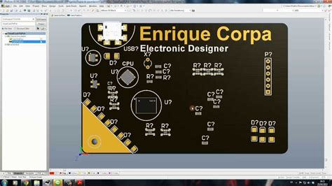 15 pcb business card project part 1