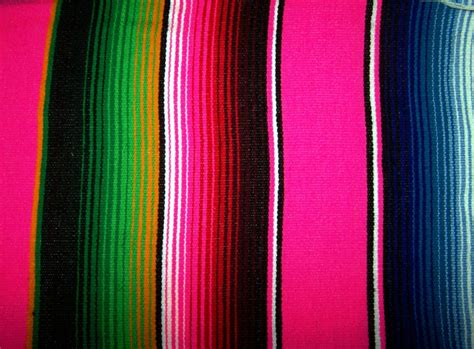 Green Throw Rug by Hammock Heaven Pink Mexican Blankets Large