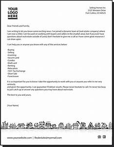 new agent letter With real estate letters