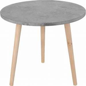 Table Basse Bois Gris : table ronde exterieur bois achat vente table ronde ~ Melissatoandfro.com Idées de Décoration