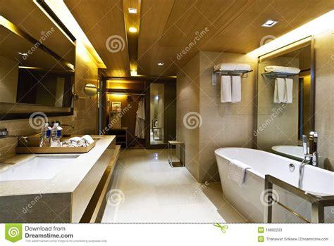 Badezimmerhotel Stockbild Bild Von Architektur
