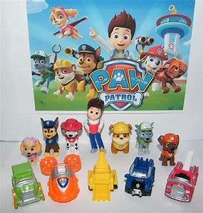 Paw Patrol Set : nickelodeon paw patrol deluxe mini figure toy play set of 12 ryder and 6 dogs ebay ~ Whattoseeinmadrid.com Haus und Dekorationen