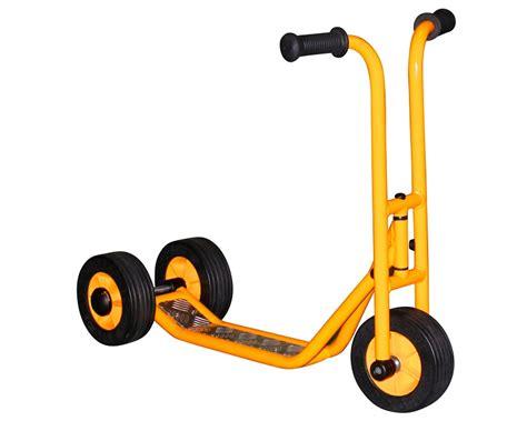 rabo trehjulig sparkcykel mini scooter lekutese