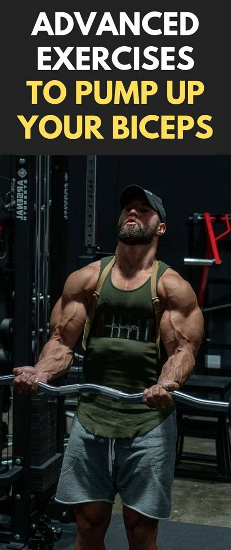 Advanced Exercises To Pump Up Your Biceps Fitness