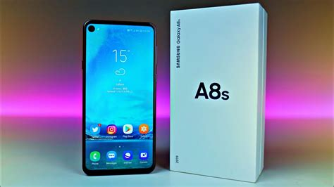 samsung galaxy a8s quot infinity o quot unboxing look
