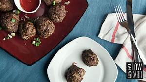 Hidden Veggie Meatballs Recipe {Paleo} - Low Fat Low Carb