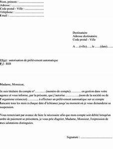 Paiement Par Virement Bancaire Entre Particuliers : mod le de lettre d autorisation de pr l vement automatique sur compte bancaire ~ Medecine-chirurgie-esthetiques.com Avis de Voitures