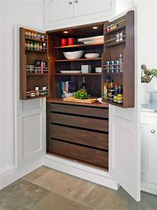 15, Handy, Kitchen, Pantry, Designs, With, A, Lot, Of, Storage, Room