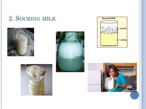 chemical change physical changes matter milk souring happen pptx