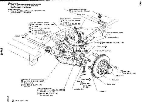 Install Brake Diagram 1987 Nissan Maxima Undercarriage by Front End For 1988 Nissan 1991 Nissan