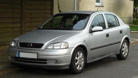 Opel Astra 1 6 by File Opel Astra 1 6 16v Edition 2000 G Frontansicht