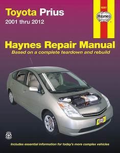 Toyota Prius Hybrid Repair Workshop Manual 2001
