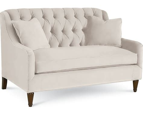 Living Room Settee Furniture by Barcelona Settee Living Room Furniture Thomasville