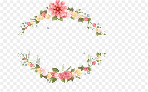 wedding invitation flower picture frame garland pictures