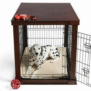 Amazoncom large cage with crate cover pet crates for Best wooden dog crate