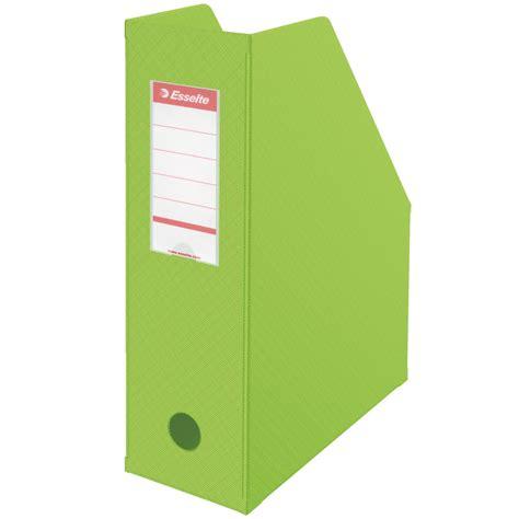 module de classement bureau esselte boîte de classement 100 mm vert porte revues