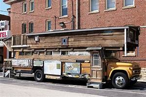 Schools Out Forever 12 Crazy DIY Converted Bus Homes