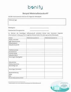 Schufa Auskunft Mieter : selbstauskunft pdf die selbstauskunft f r deine wohnungssuche ~ Lizthompson.info Haus und Dekorationen