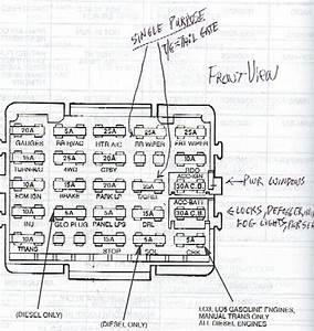 1994 Chevy Silverado Fuse Box Diagram  U2022 Wiring Diagram For