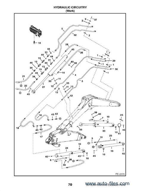 bobcat     series excavator parts manual