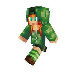 Minecraft Creeper Girl Skin