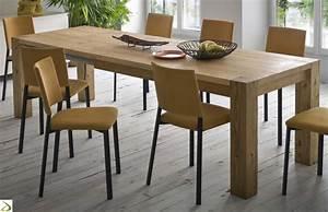 Tavolo in legno massello Natural Arredo Design Online
