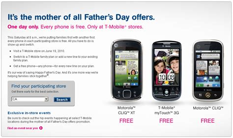 t mobile free phone t mobile to offer family plan free phones on saturday cnet
