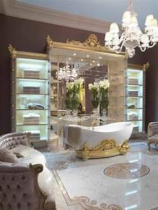 Style De Salle De Bain : d co salle de bain style baroque d co sphair ~ Teatrodelosmanantiales.com Idées de Décoration