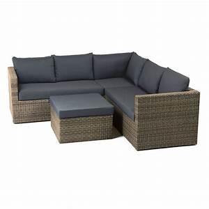 Garten Lounge Set Günstig : gartenlounge polyrattan outliv gibson loungem bel garten outdoor geflecht grau braun meliert ~ Watch28wear.com Haus und Dekorationen