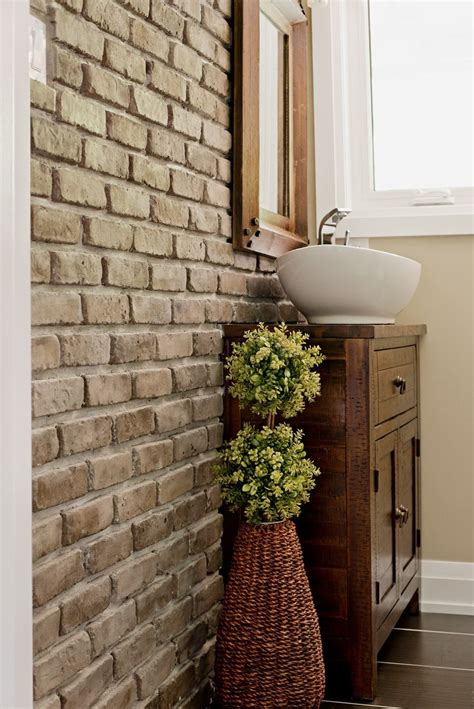 Thin Tiles For Bathroom by Selex Thin Brick Veneer Bathroom Wall