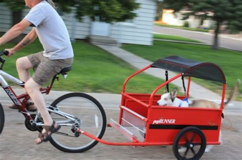 dog carriers   bike puprunners