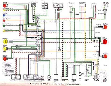 1983 honda xr200r wiring diagram with turn signals xr crf 80 200 thumpertalk
