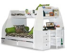 bunk bed desk combo wantster