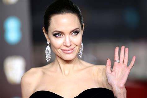 Angelina Jolie wore a sparkly caftan, a major change from ...