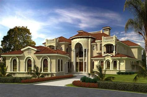 7 Bedroom Homes by Luxury House Plan 7 Bedrms 7 5 Baths 11027 Sq Ft