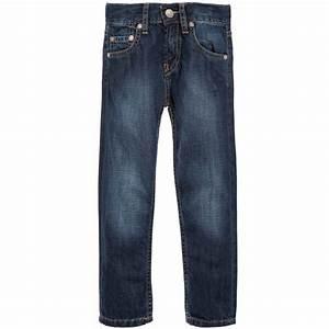 Leviu0026#39;s - Boys Blue Denim u0026#39;508u0026#39; Jeans | Childrensalon