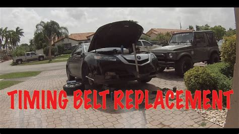 Acura Tl Timing Belt Replacement by 2010 Acura Tl 3 5l Timing Belt Replacement Diy
