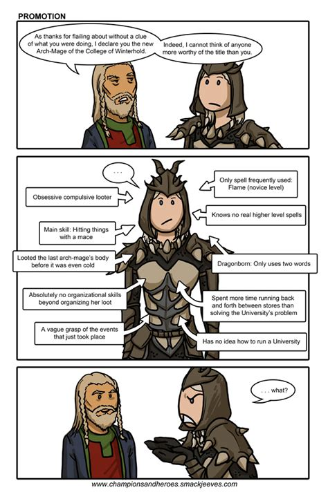 Champions And Heroes Age Of Dragons Comics Skyrim