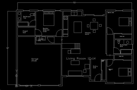 floor plan design free floorplan complete tutorial autocad